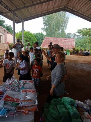 Distribution of School Supplies