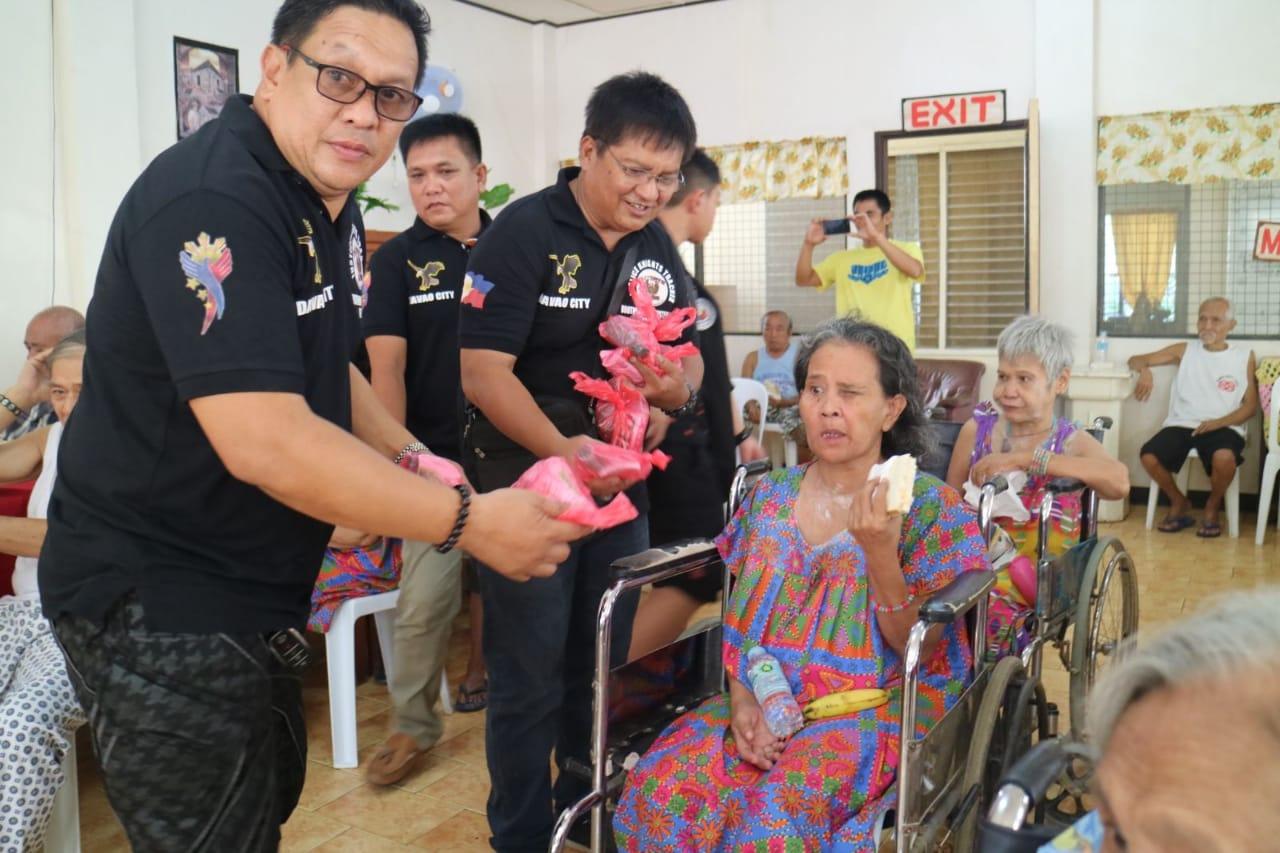 Feeding Program for Senior Citizen and Street Children