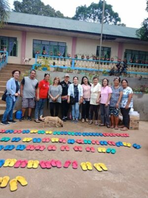 Distribution of Slippers in Norther Luzon