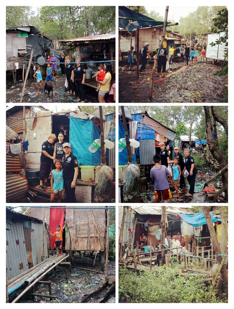 Arranging of Squatters Area in Northern Luzon