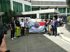 Korean Group Donation in Laurel Batangas