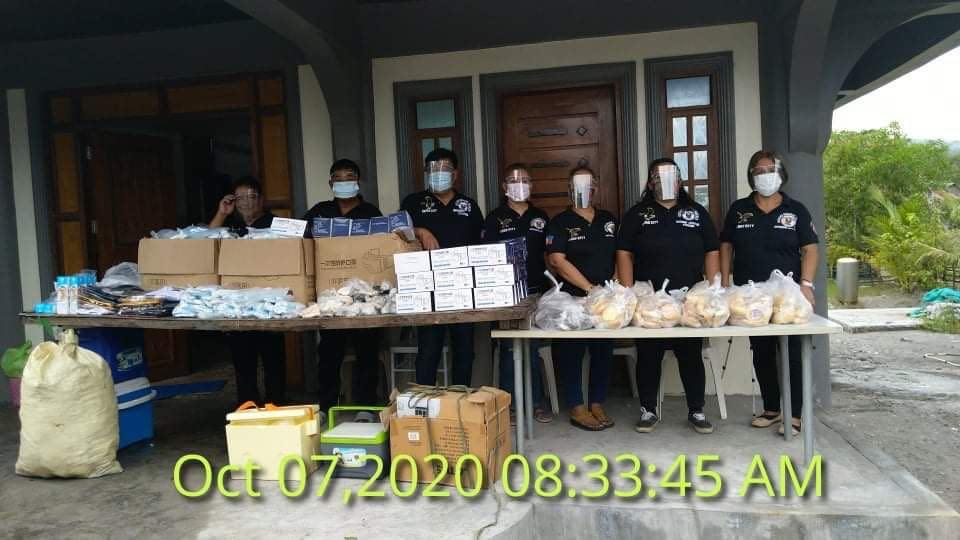 Feeding Programs at Bataan and Morong Municipality Area last October  6-7, 2020